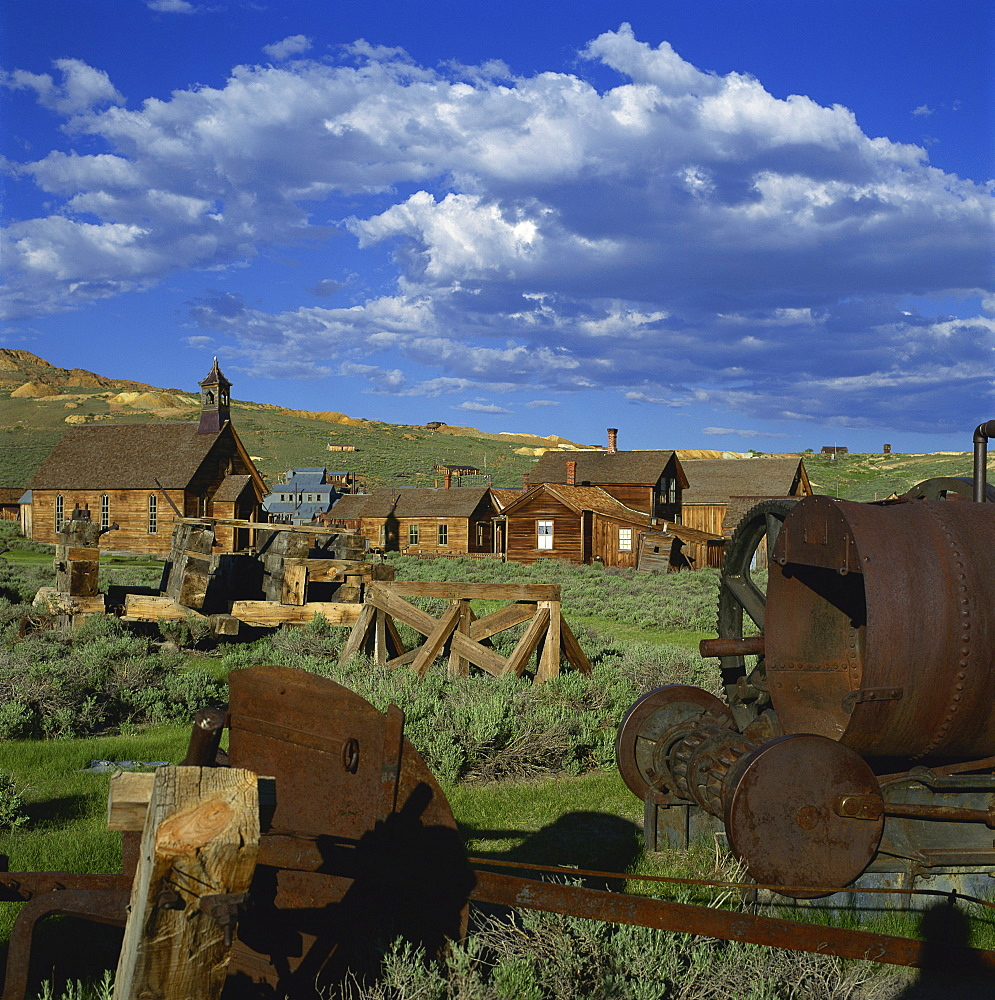 The ghost town of Bodie, California, United States of America, North America - 136-977