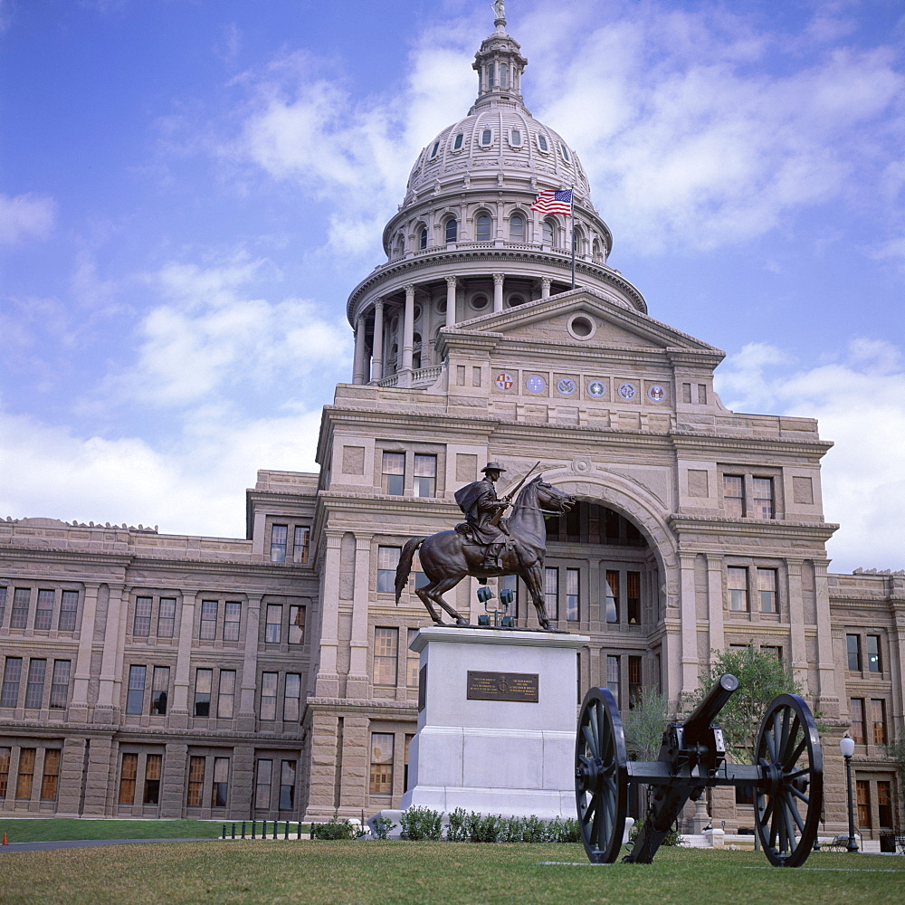 Exterior of the State Capitol Building, Austin, Texas, United States of America (USA), North America