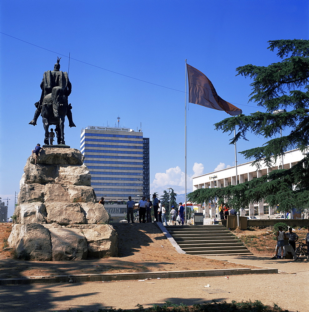 Central Square, Tirana, Albania, Europe