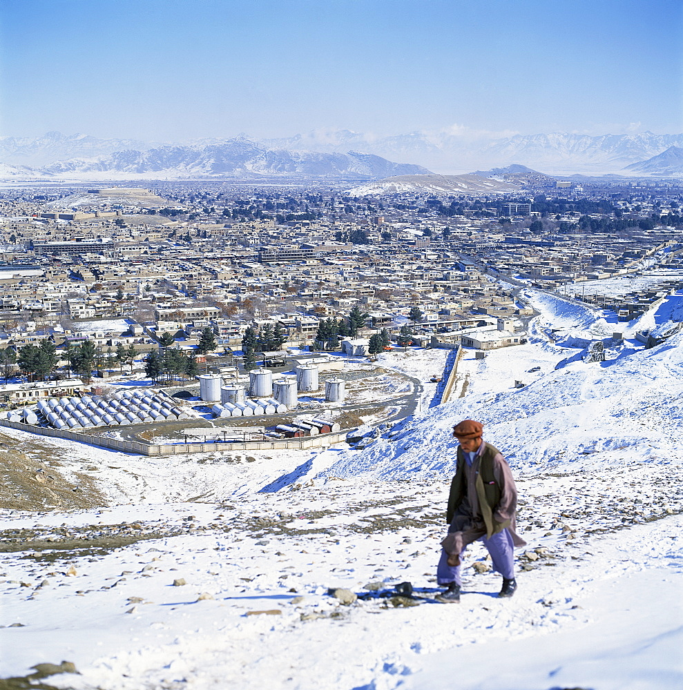 Winter in Kabul, Afghanistan, Asia