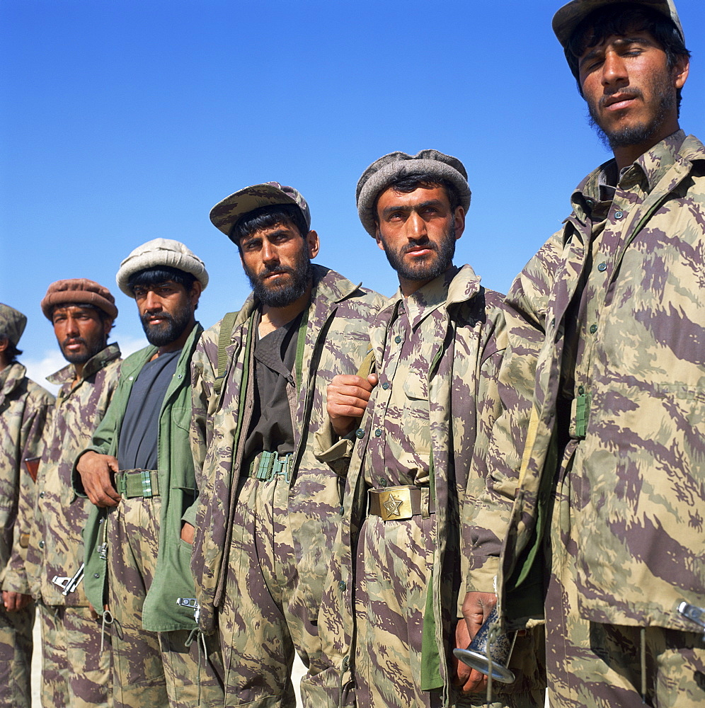 Mujeheddin troops, Kabul, Afghanistan, Asia