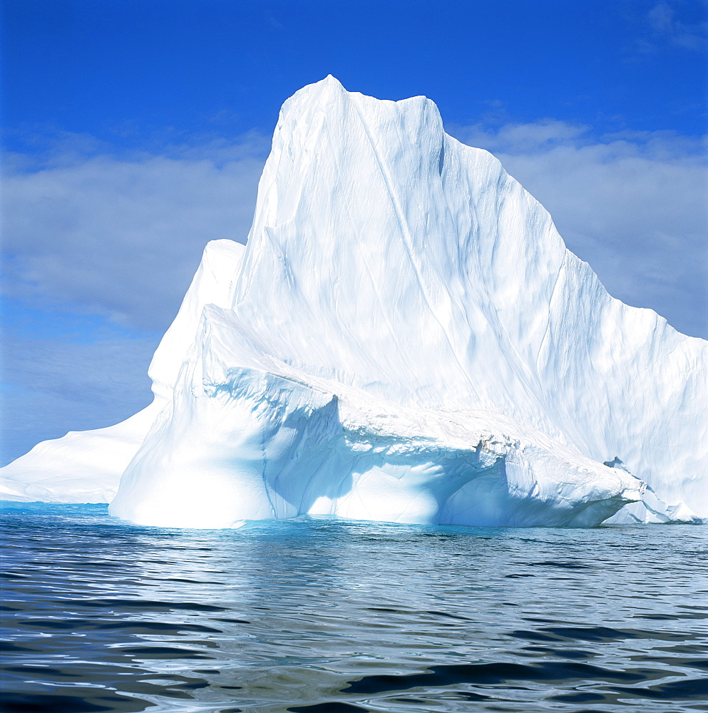 Iceberg off East Greenland, Polar Regions
