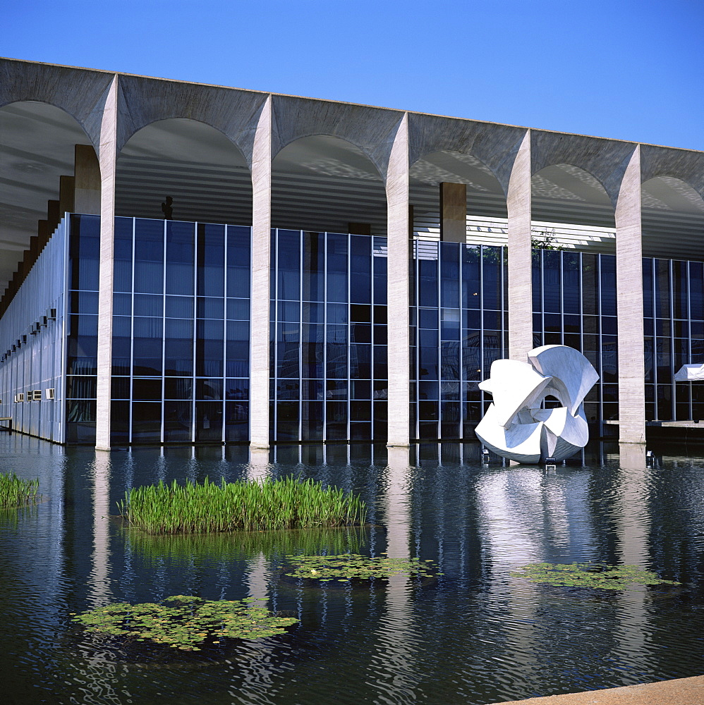 Palacio do Itamaraty, Brasilia, UNESCO World Heritage Site, Brazil, South America - 197-3976