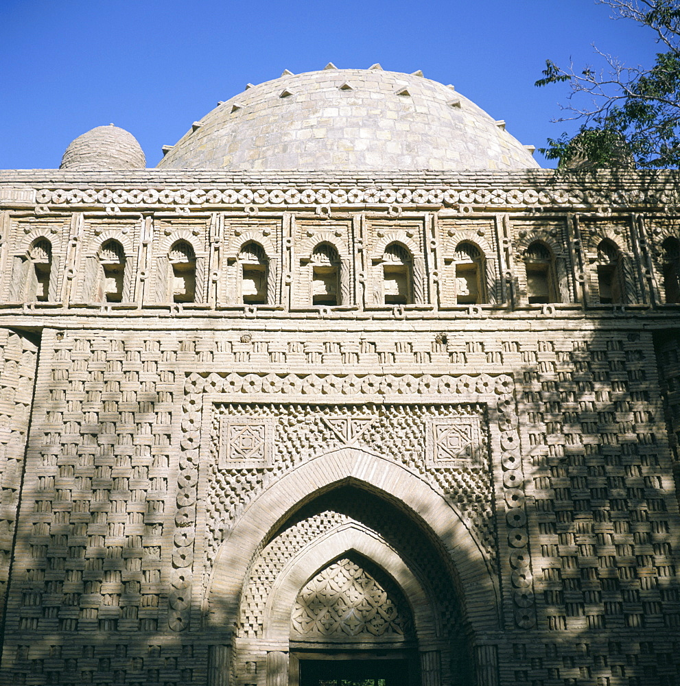 Mausoleum of the Samanids, dating from the 9th century AD, Bukhara, UNESCO World Heritage Site, Uzbekistan, Central Asia, Asia