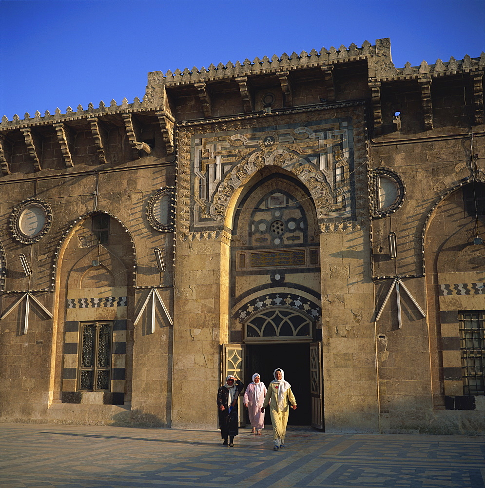 The Grand Mosque, founded in 715, Aleppo, UNESCO World Heritage Site, Syria, Middle East - 391-6106