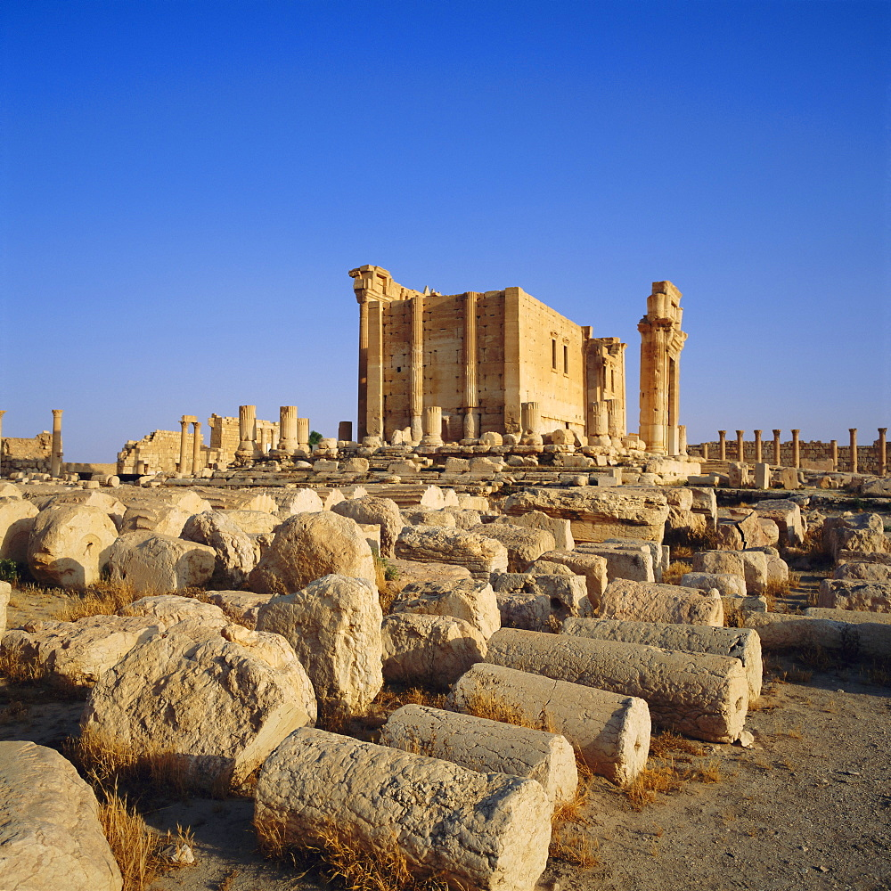 Roman Temple of Bel, 45 AD, Palmyra, Syria, Middle East