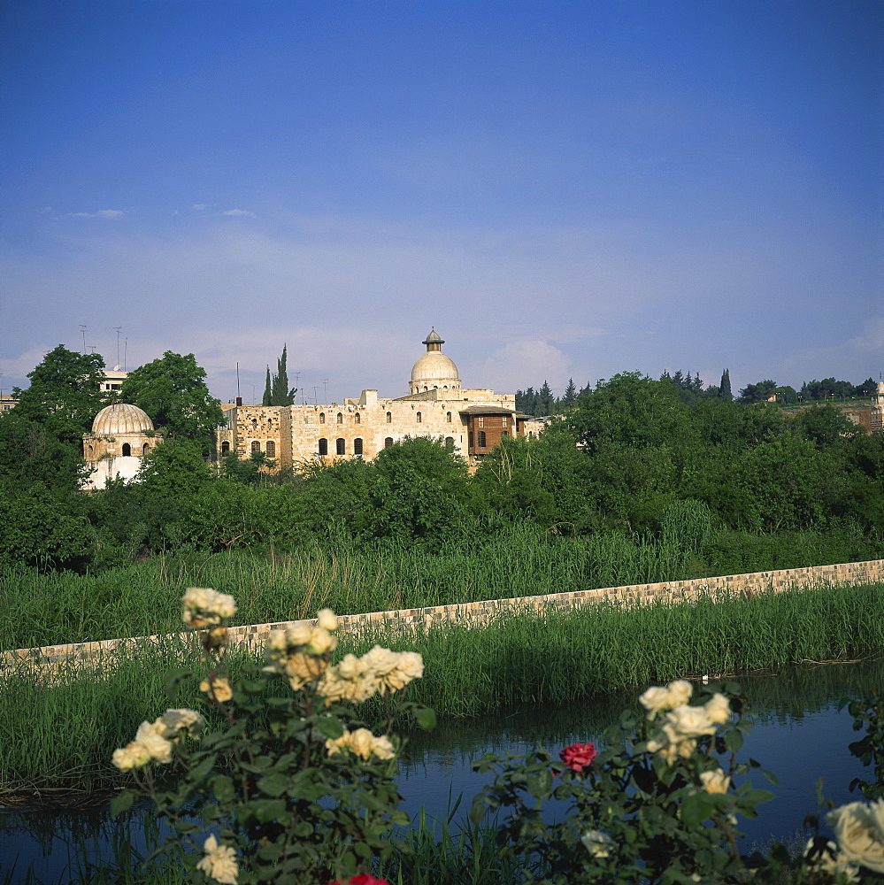 Beit el Azem, an 18th century mansion, on the Orontes River, Hama, Syria, Middle East