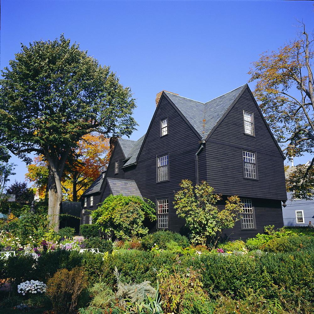 House of the Seven Gables, 1668, made famous in Nathaniel Hawthorne's novel of the same name, Salem, Massachusetts, USA