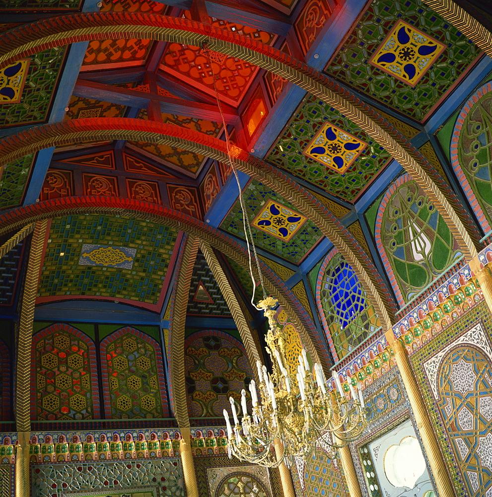 Sitorai Mohi Hossa (Summer Palace), Bukhara, Uzbekistan, Central Asia, Asia - 391-914