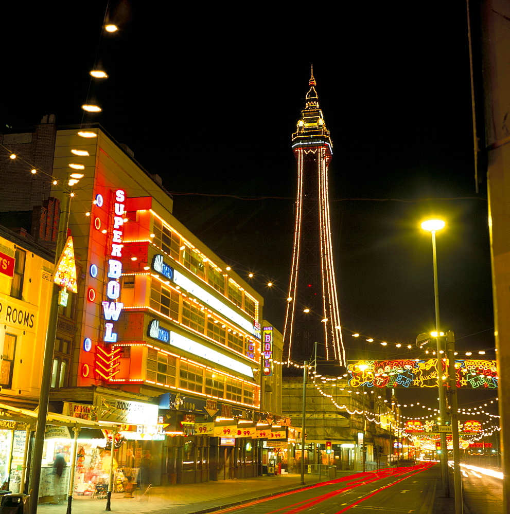 Blackpool illuminations, Blackpool, Lancashire, England, United Kingdom, Europe - 485-1269