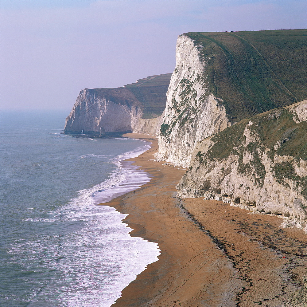 Coast at Bats Head and Swyre Head, near Durdle Door, Dorset, England, United Kingdom, Europe