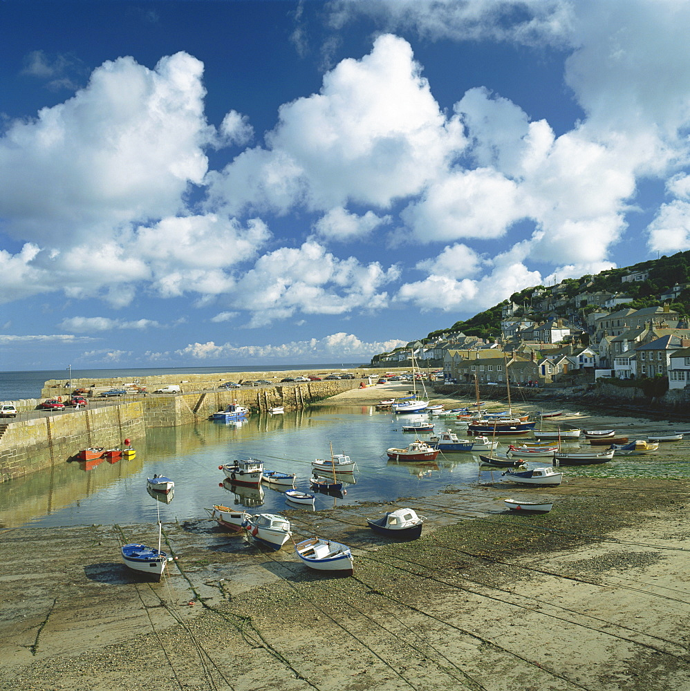 Mousehole, Cornwall, England, United Kingdom, Europe - 485-5247