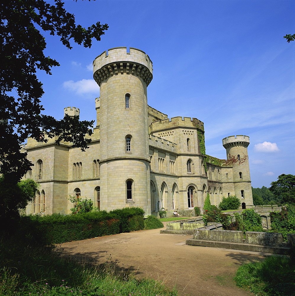 Eastnor Castle, Hereford and Worcester, England, United Kingdom, Europe - 485-977