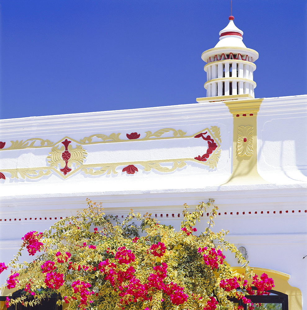 Architectural detail, Algarve, Portugal, Europe