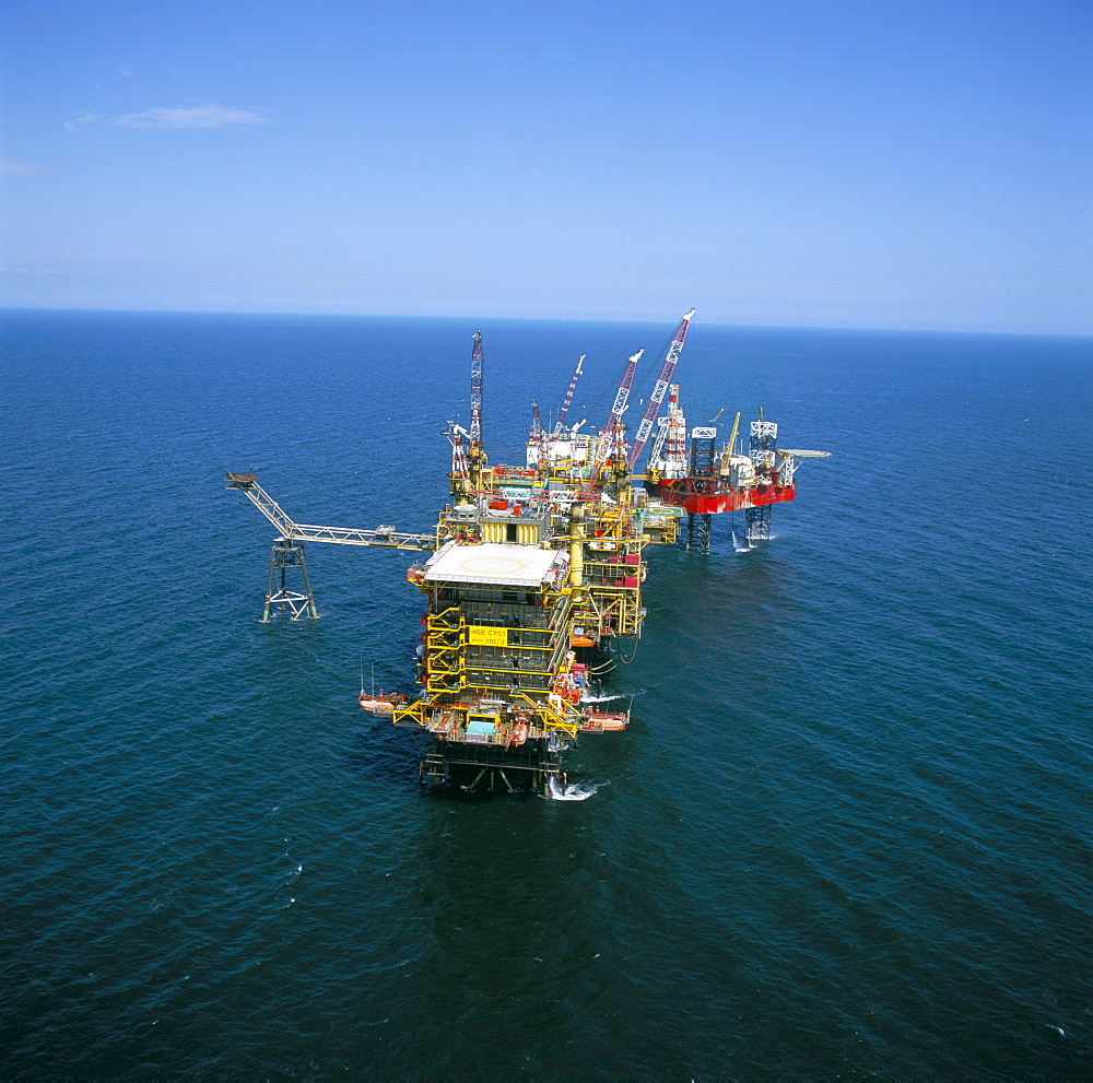 Morecombe Bay gas field, England, United Kingdom, Europe