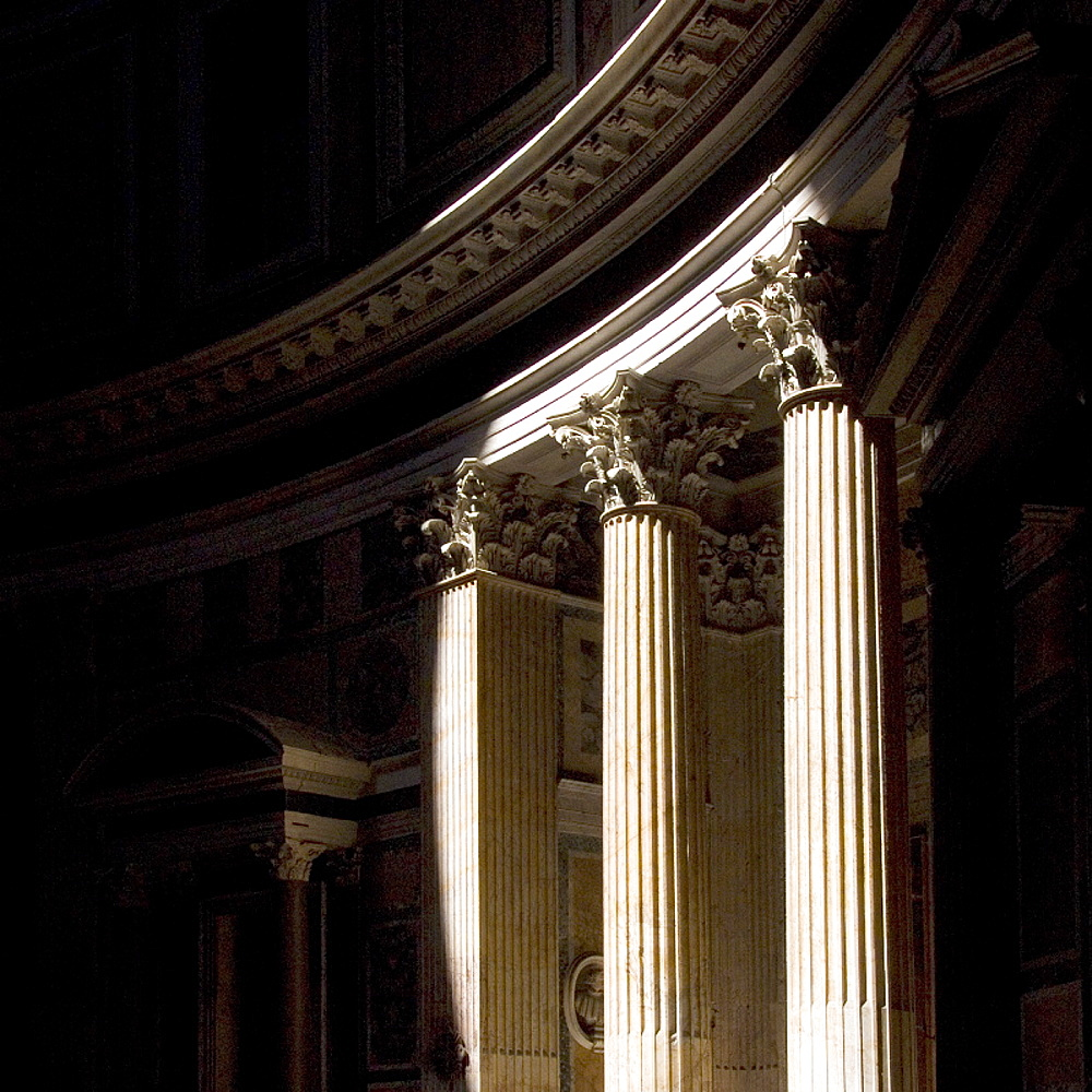 Detail, Pantheon, Rome, Lazio, Italy, Europe - 815-769