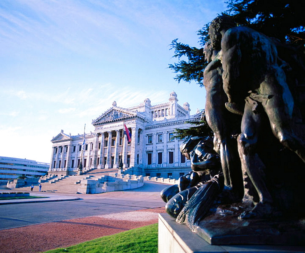 Palacio Legislativo (National Congress), Montevideo, Uruguay