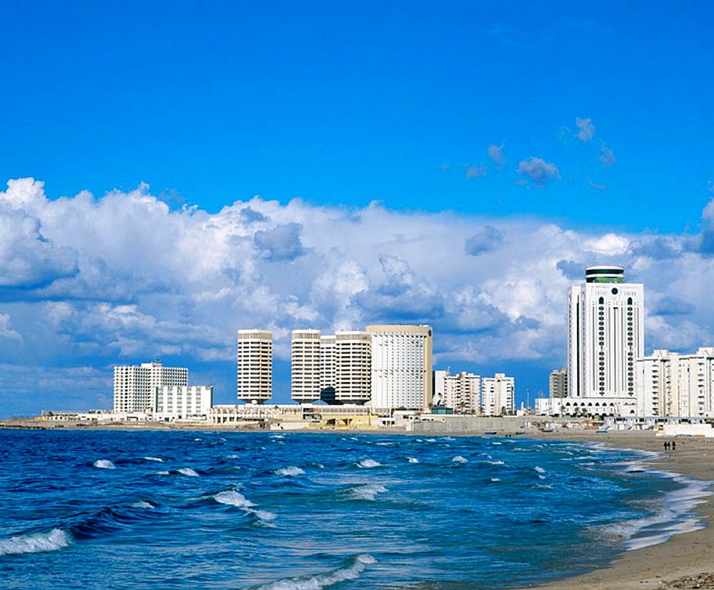 Sharia al-Corniche, Tripoli, Lybia