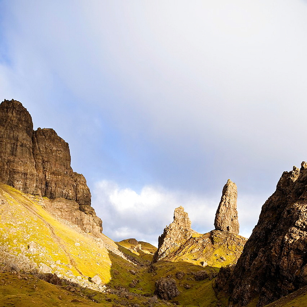 Old Man of Storr, the Storr, Isle of Skye, Scotland