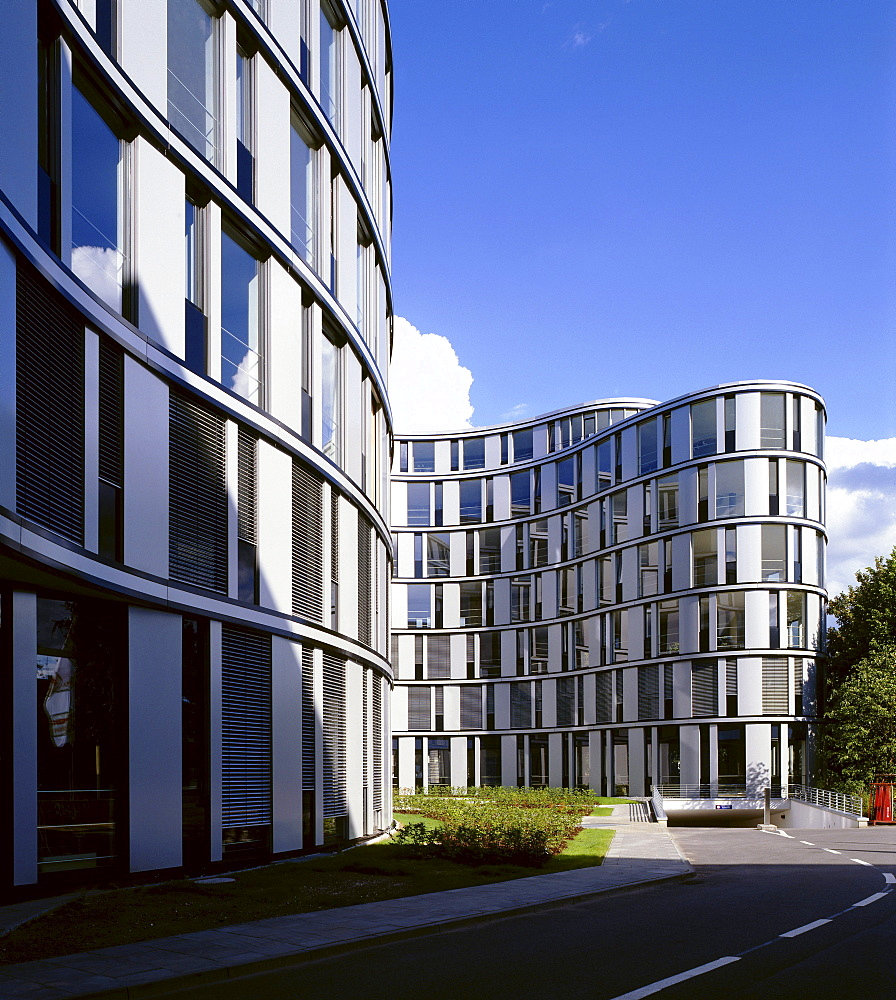 "Office building ""Hamburger Welle"", Hamburg Wave, Hamburg, Germany, Europe"