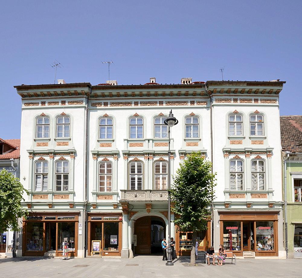 Renovated house, Sibiu, Romania, Europe