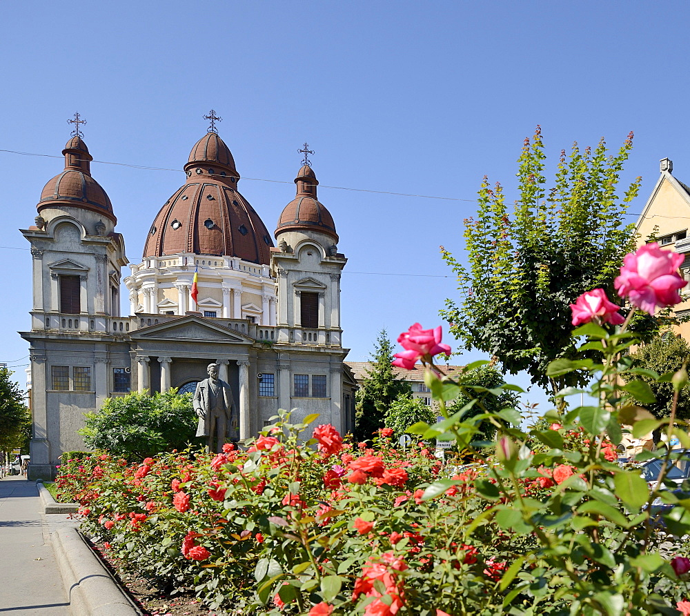 Greek Orthodox church, Targu Mures, Mure& County, Transylvania, Romania, Europe