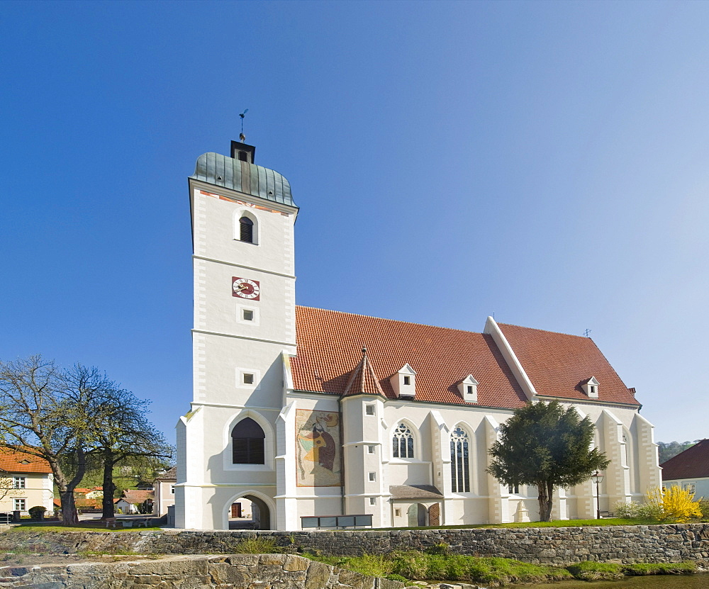Church of John the Baptist, Kirchschlag, Bucklige Welt, Lower Austria, Austria, Europe