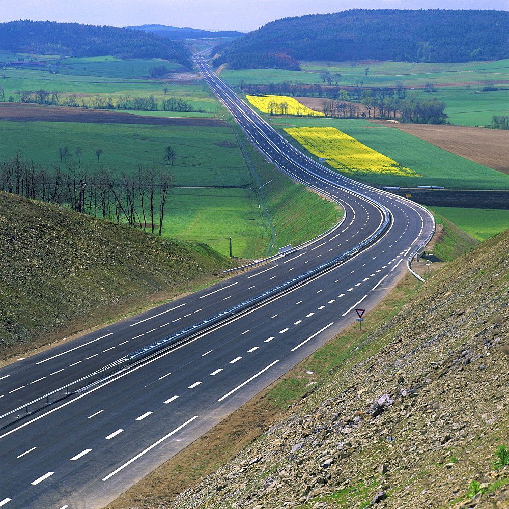 Highway, France, Europe