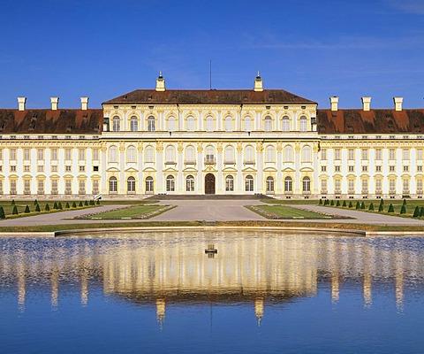 New Schleissheim Palace in Oberschleissheim, Upper Bavaria, Germany, Europe