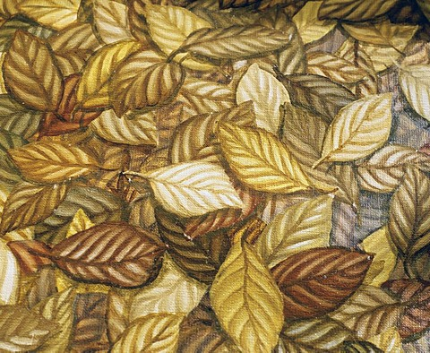 Autumnal foliage, oil painting by Barbara Rose - 832-254161