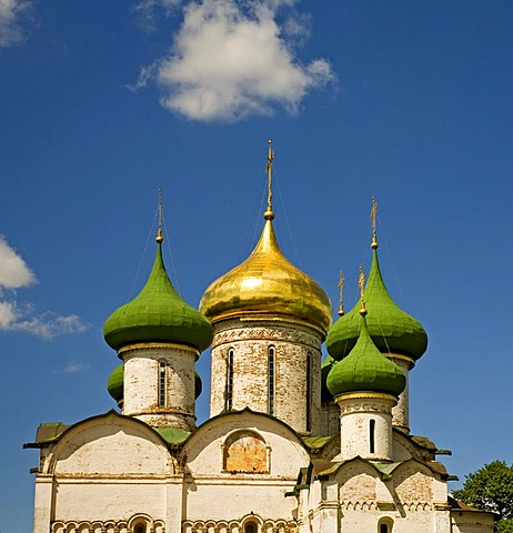 Transfiguration cathedral, St. Euthymius Monastery, Suzdal, Russia