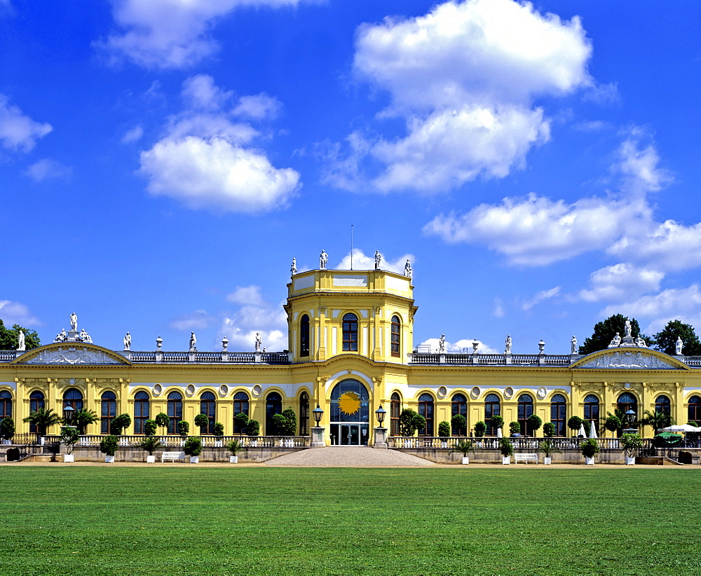 Baroque-era orangery in Kassel, Hesse, Germany, Europe