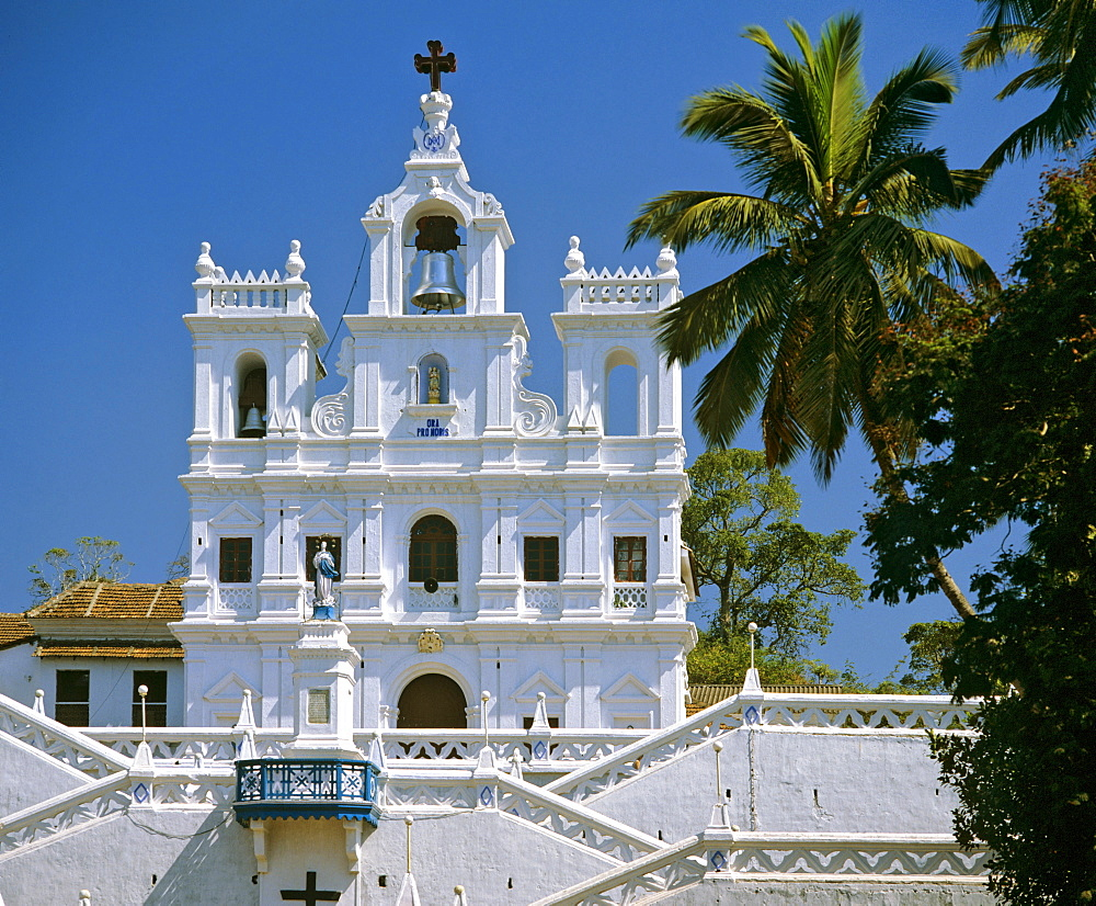 Church of the Immaculate Conception in Panaji, Church of St. Mary, cathedral, Goa, India