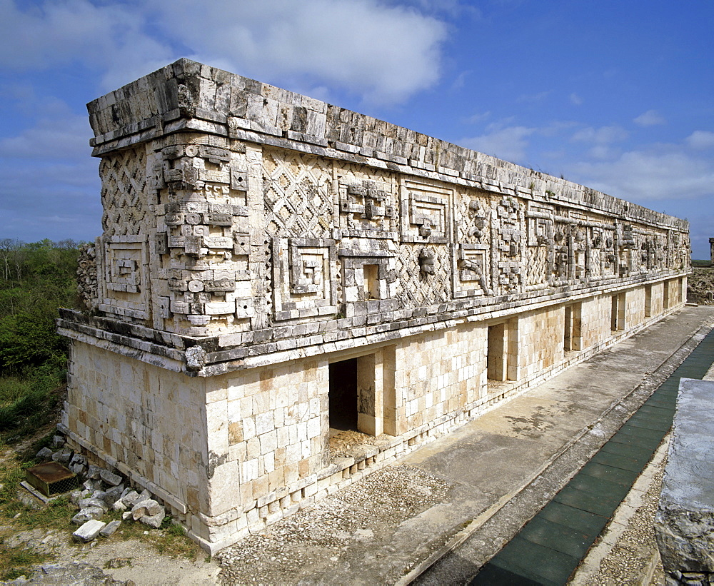 Cuadrangular de las Monjas, square of the nuns, Palacio del Nunnery Palace, Uxmal, Yucatan, Mexico, Central America