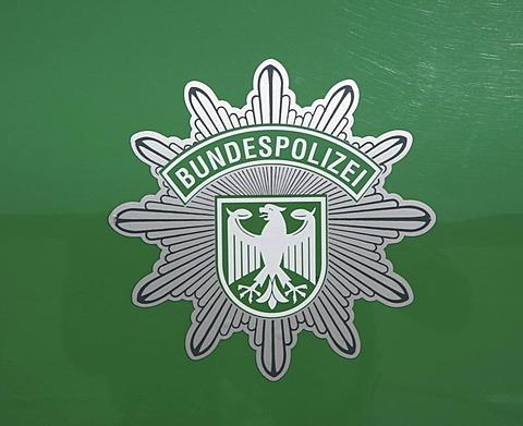 DEU, Germany : Logo of the german border police, immigration control. |