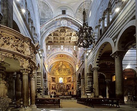 Cathedral Santa Maria, Pisa, Tuscany, Italy