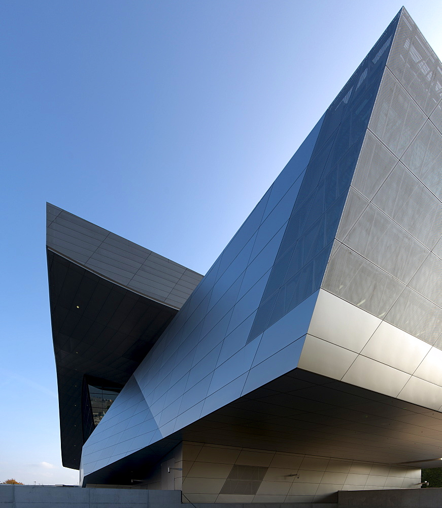 BMW World, event forum and distribution center for BMW cars, Munich, Bavaria, Germany
