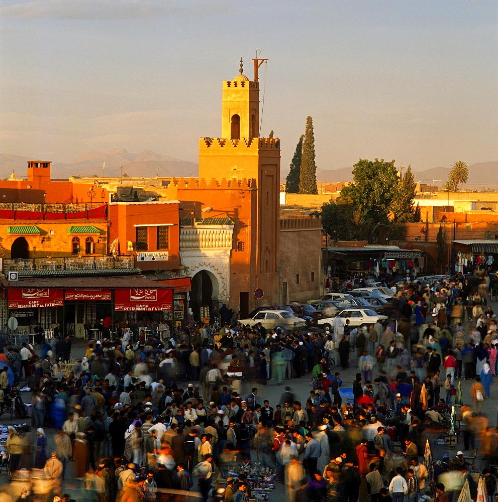 Djemaa El Fna, Marrakesch, Morocco, Africa