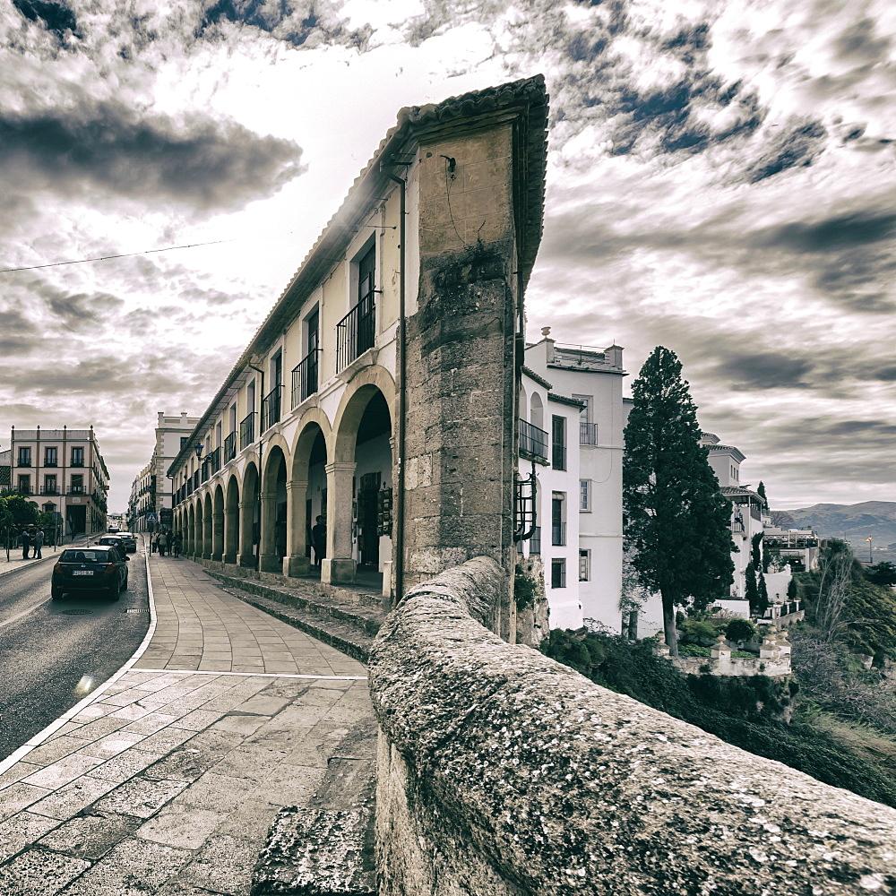 Historic centre of Ronda, La Ciudad, Malaga, Andalucia, Spain, Europe