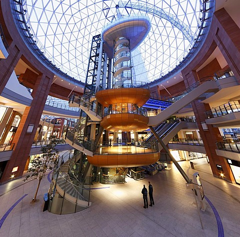 Victoria Square Shopping Centre, Belfast, Northern Ireland, Ireland, Great Britain, Europe