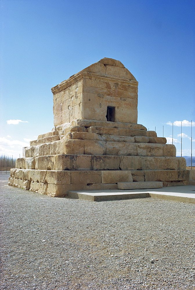 Tomb of Cyrus the Great, Pasargadae, Iran, Middle East
