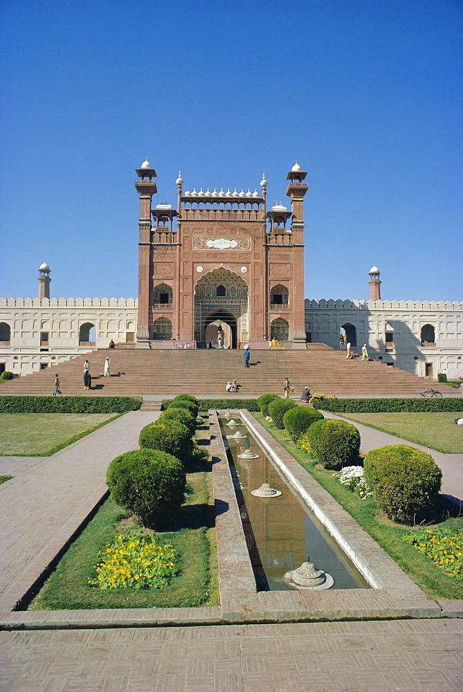 Gateway, Badshahi Mosque, Lahore, Pakistan