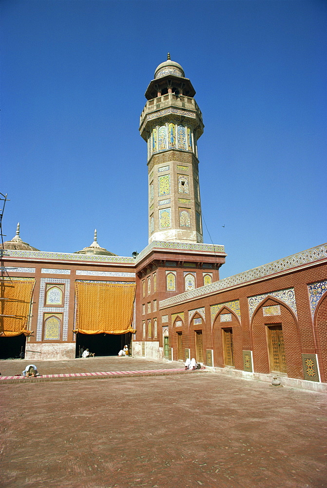 Wazir Khan Mosque, Lahore, Pakistan, Asia