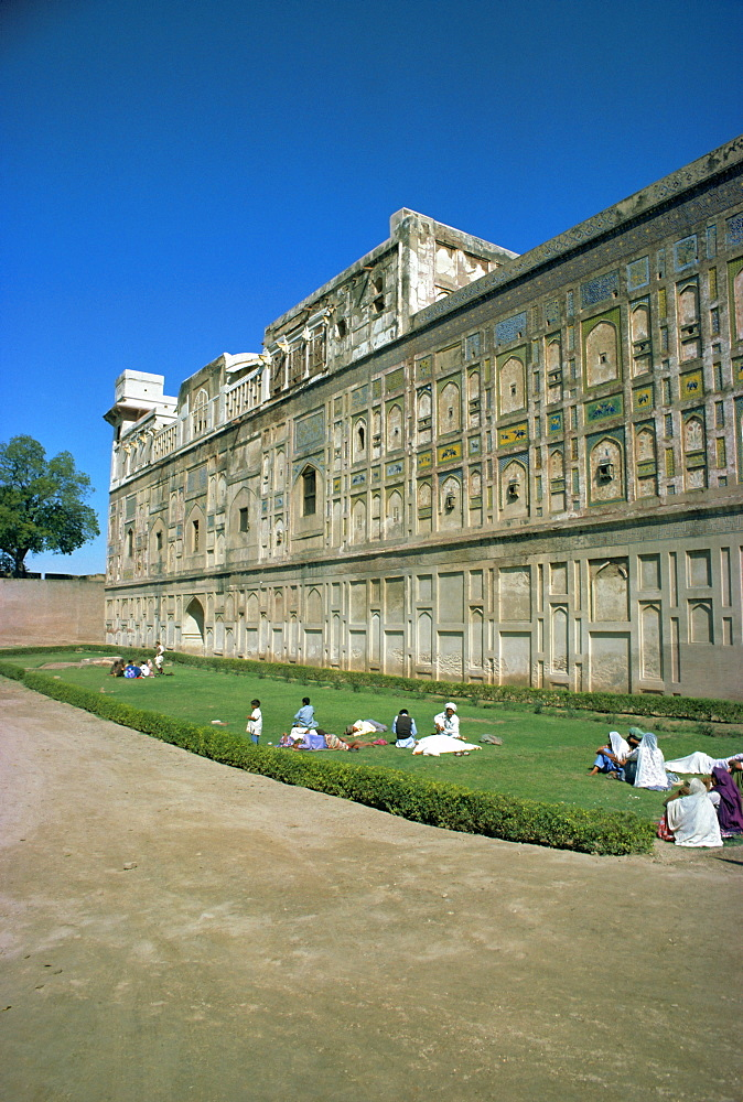 Lahore Fort, Lahore, Punjab, Pakistan, Asia