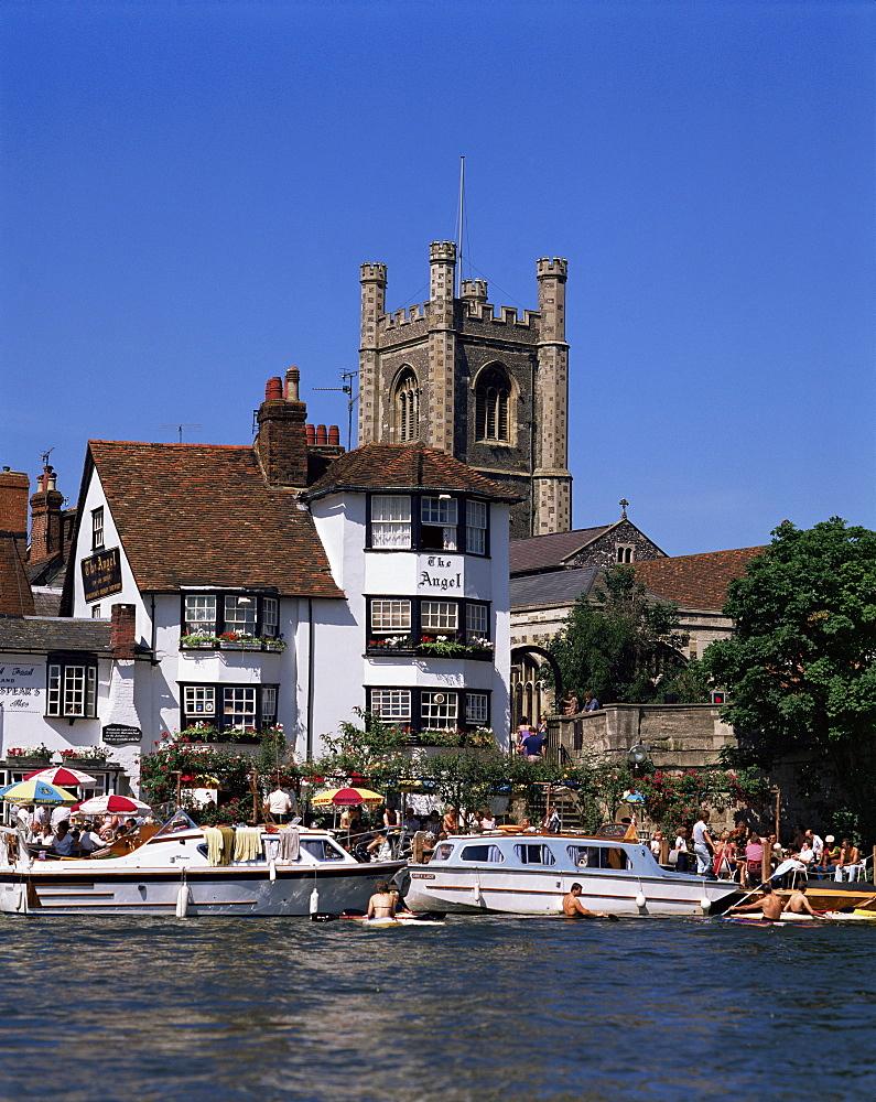 River Thames, Henley-on-Thames, Oxfordshire, England, United Kingdom, Europe