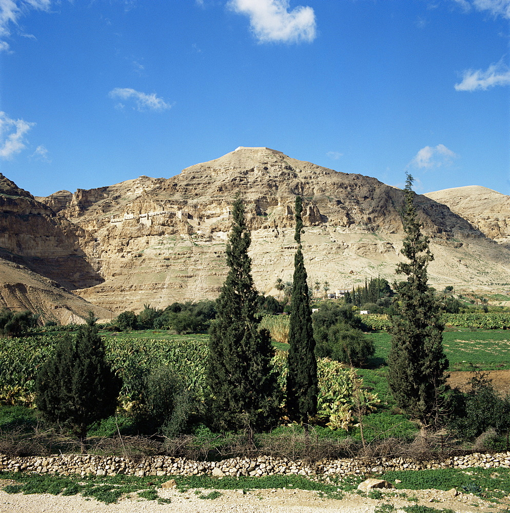 Mount of Temptation, Jericho, Israel, Middle East