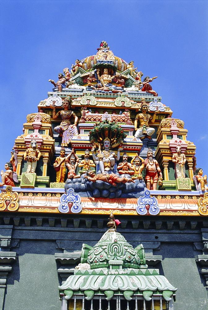 Hindu temple, Colombo, Sri Lanka, Asia