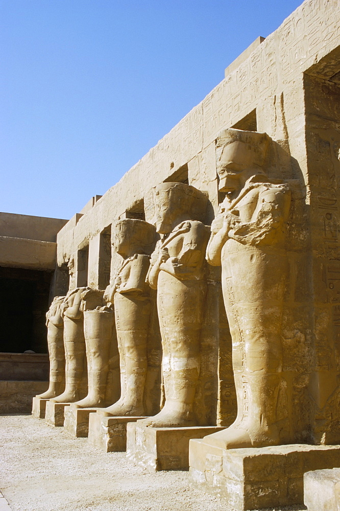 Temple of Karnak, Luxor, Thebes, UNESCO World Heritage Site, Egypt, North Africa, Africa