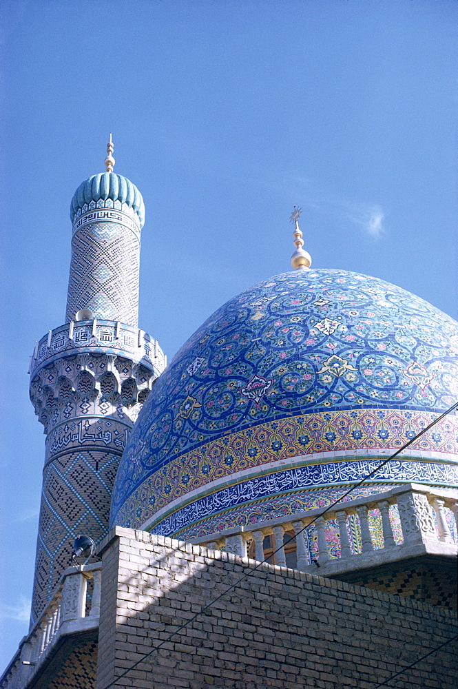 Late mosque, Baghdad, Iraq, Middle East