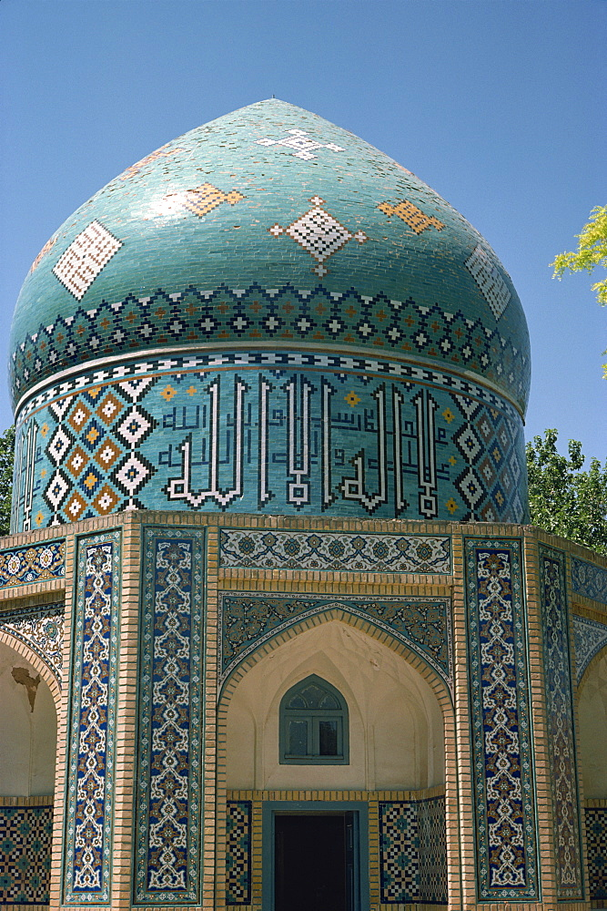 Tomb of Sheikh Attar, Nishapur, Iran, Middle East - 1-8625